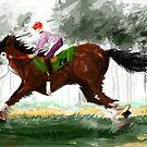 Horse Paint pt3 by Mark Padua