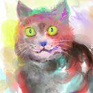 Cat Painting pt2 by Mark Padua