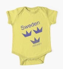 Sweden Hockey One Piece - Short Sleeve