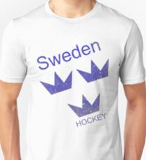 Sweden Hockey Unisex T-Shirt