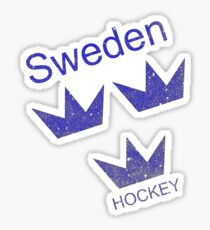 Sweden Hockey Sticker