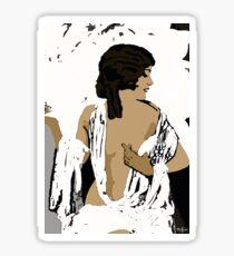 Femme Fatale c 1920's Beautiful Women Rule the World Sticker