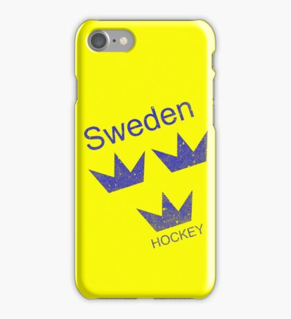 Sweden Hockey iPhone Case/Skin