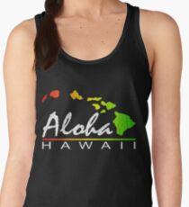 ALOHA - Hawaiian Islands (vintage distressed design) Women's Tank Top