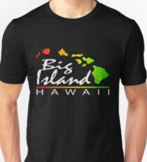 Big Island Hawaii (vintage distressed design) T-Shirt