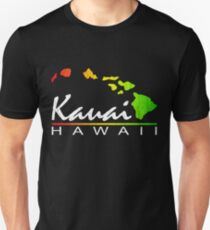 Kauai Hawaiian Islands (vintage distressed design) T-Shirt
