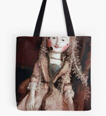 Rare Collectable Victorian Vintage Doll Tote Bag