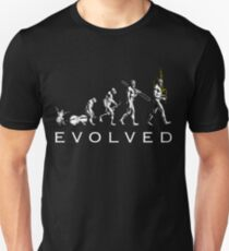 Bagpipe Evolution Unisex T-Shirt