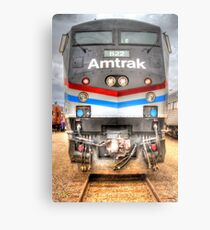 Amtrak Metal Print