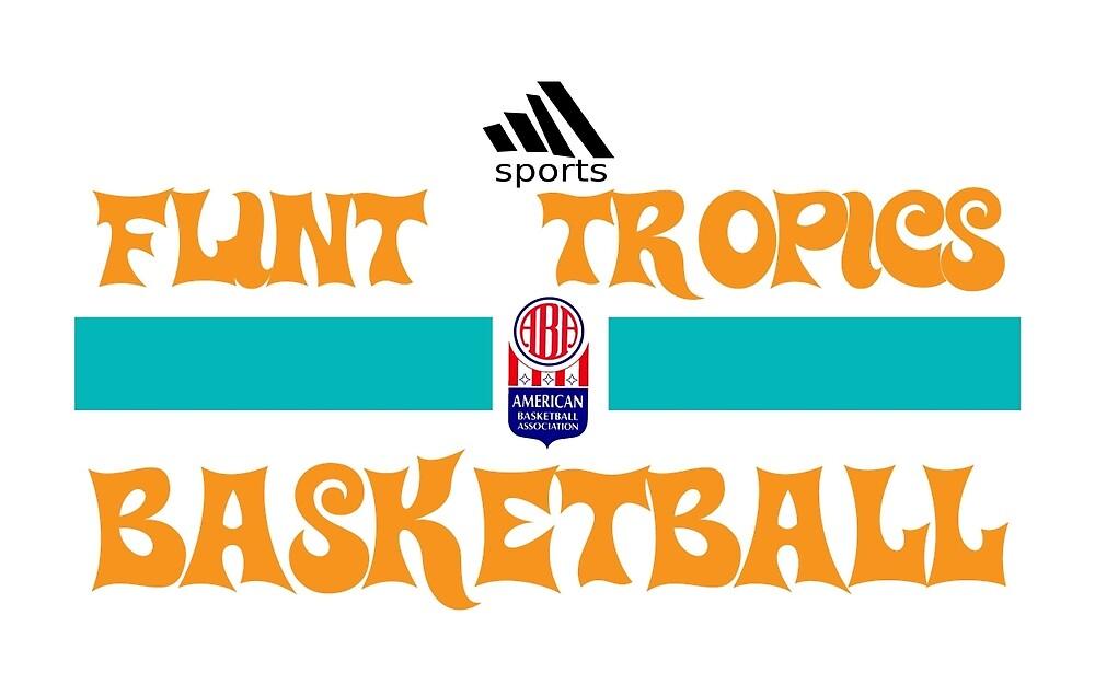 Flint Tropics Basketball Semi Pro by lokki