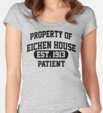 Property of  Eichen House Women's Fitted Scoop T-Shirt
