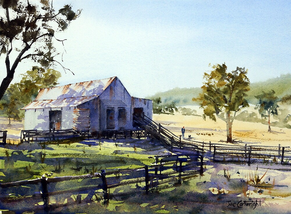 Quot Farm Shed Morning Light And Shadows Quot By Joe Cartwright