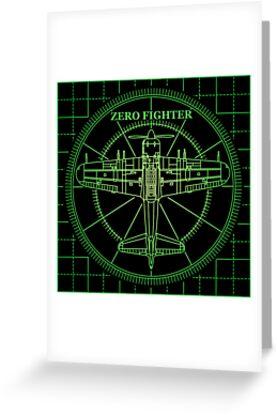 ZEROFIGHTER RADER by kuuma