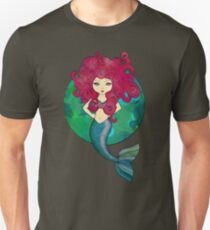 Mermaids have bad hair days, too. T-Shirt