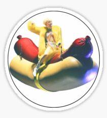 Miley - Hot Dog Sticker