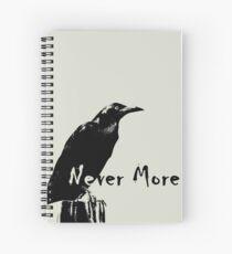 Cuaderno de espiral Never More
