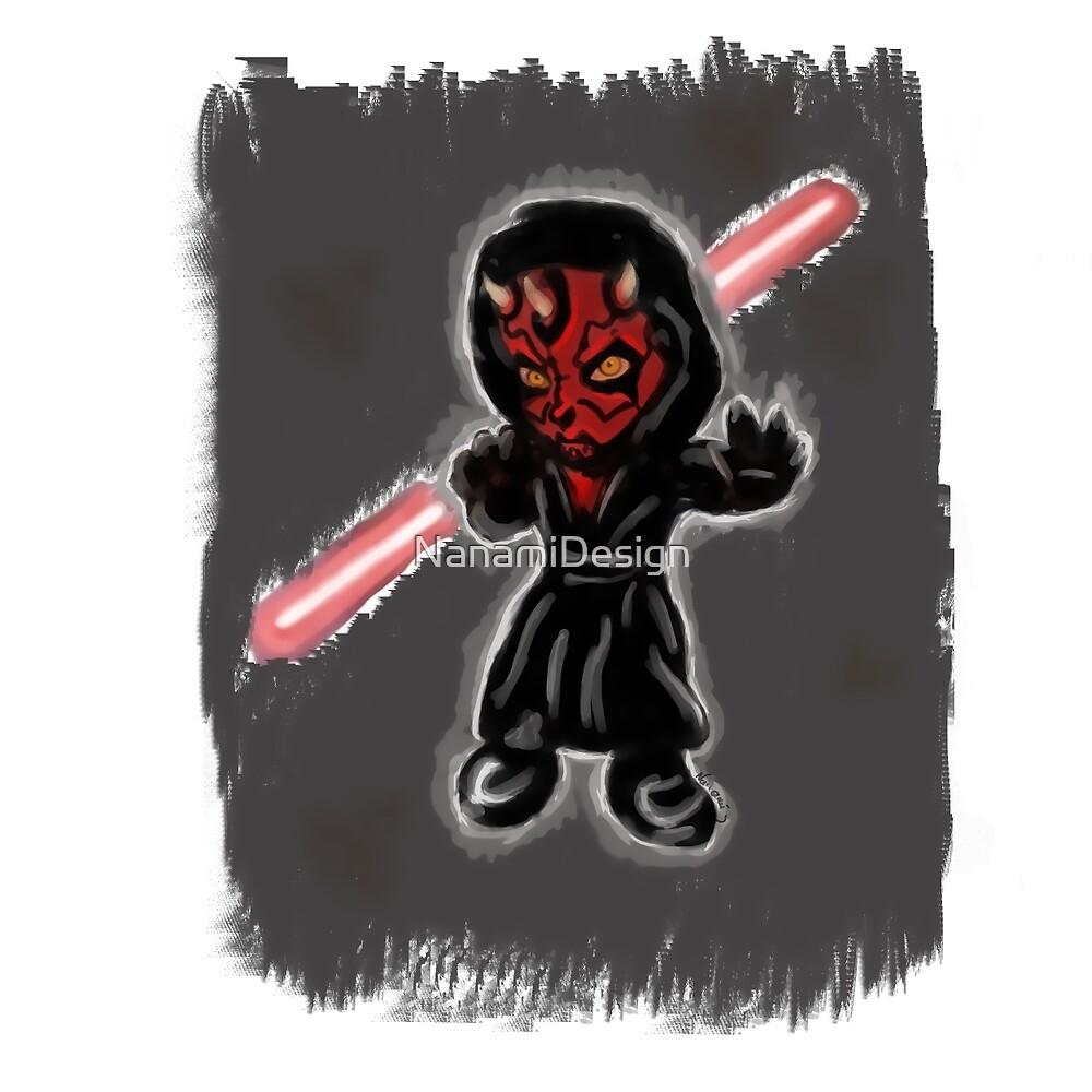 Cute Dark side by NanamiDesign