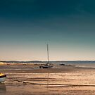 Sailboats at Low Tide by Artist Dapixara