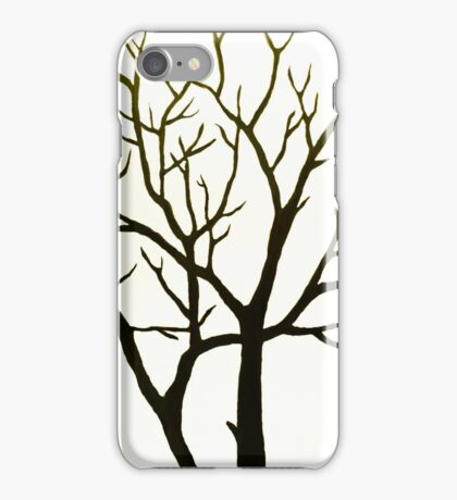White Tree iPhone Case/Skin
