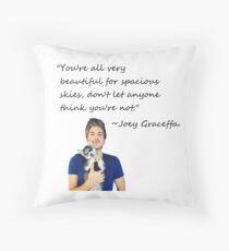 Joey Graceffa-FORSPACIOUSSKIES Throw Pillow