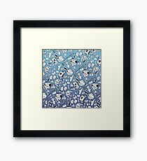 A Pattern About Nothing (Seinfeld) Framed Print