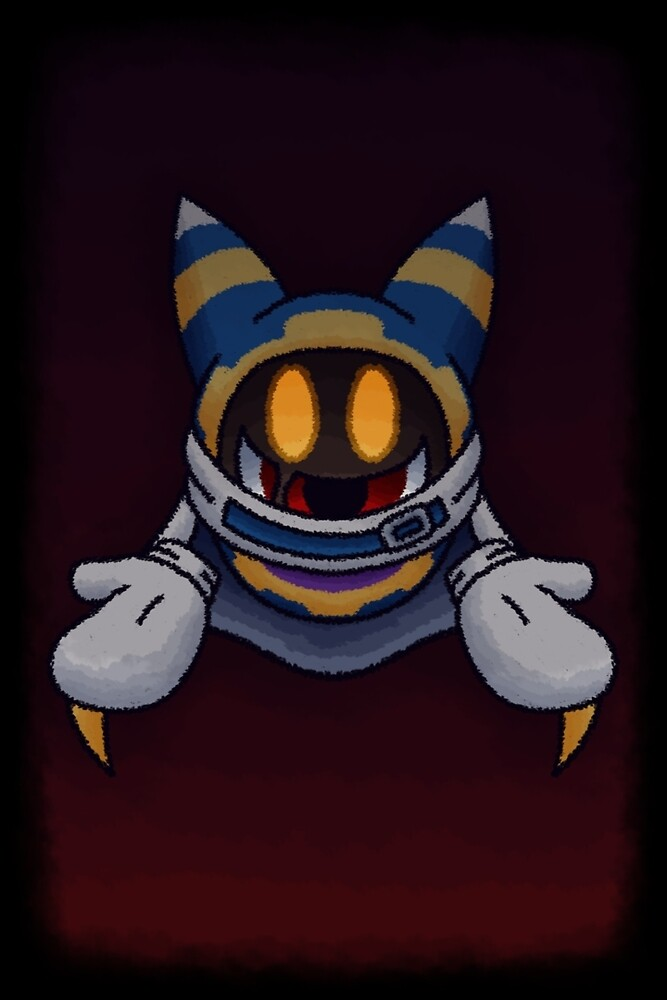 Creepy Magolor by VibrantEchoes