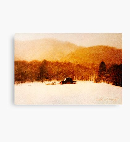 Country Snows Canvas Print