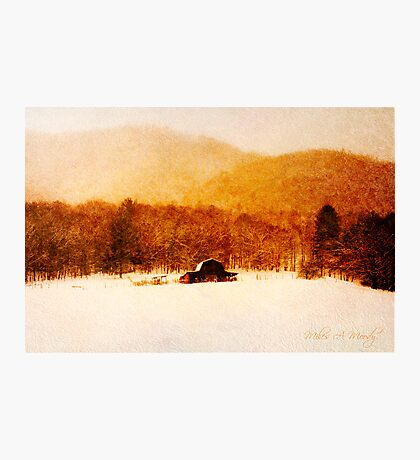 Country Snows Photographic Print