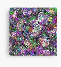 Colorful Lines Abstract Canvas Print