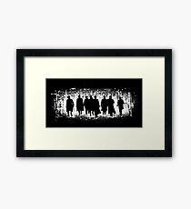Peaky Blinders Gang Poster Framed Print
