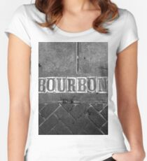 Bourbon Street Women's Fitted Scoop T-Shirt