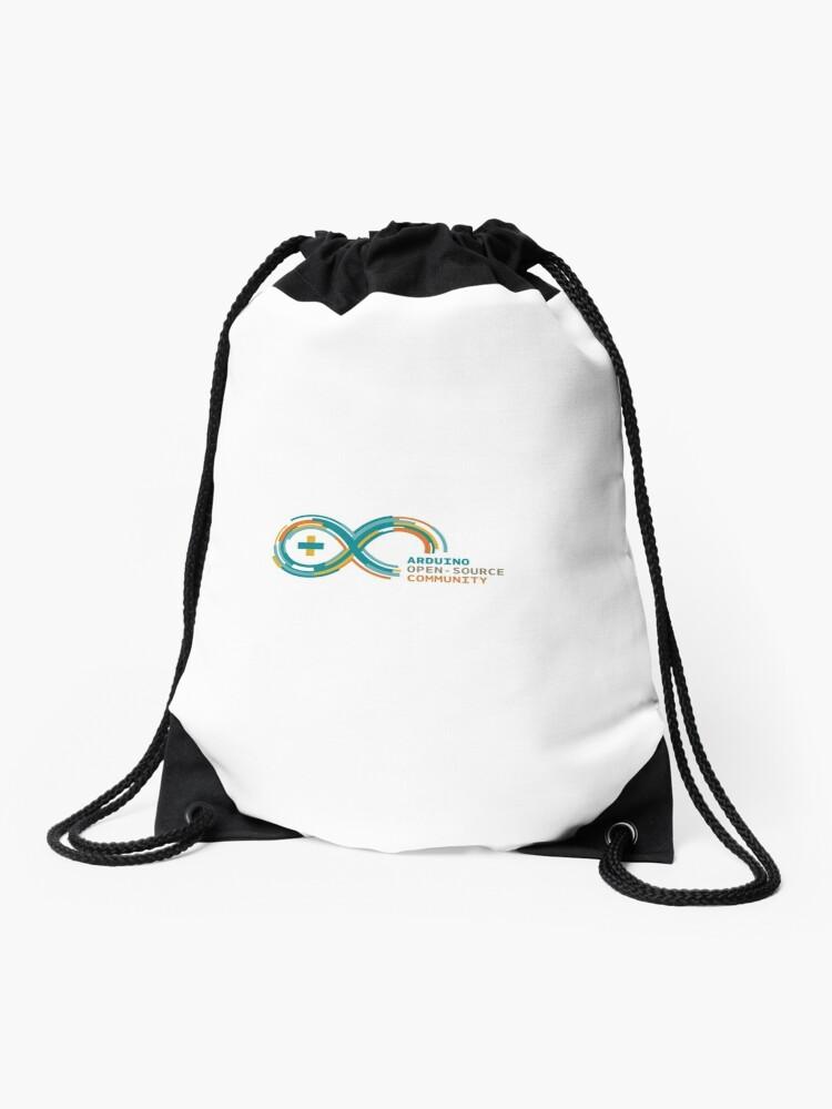 Arduino Open Source Community | Drawstring Bag