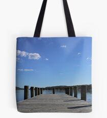 Coniston Jetty Tote Bag