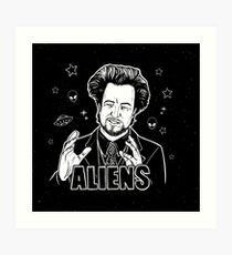 The Aliens Guy (Giorgio Tsoukalos) Art Print