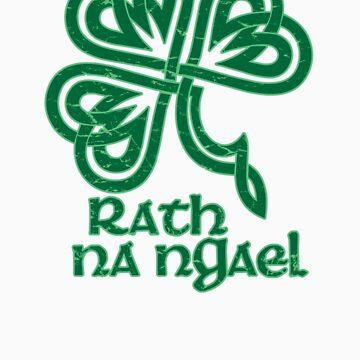 Celtic Shamrock by auntiememe
