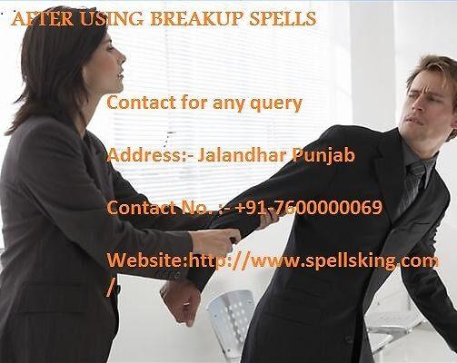 Breakup Spell To Get Ex-Love Back by Spellsking