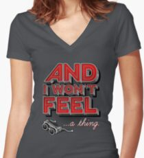Everything you ever Women's Fitted V-Neck T-Shirt