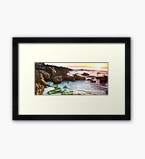 Morning Seascape Framed Print