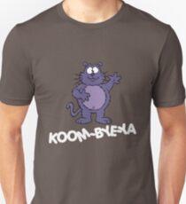 Eek the Cat - Koom-Bye-Ya - White Font Unisex T-Shirt