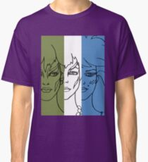 Jem and The Holograms - The Misfits Striped - Color Classic T-Shirt