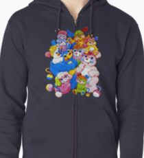 Popples - Group - Color Zipped Hoodie