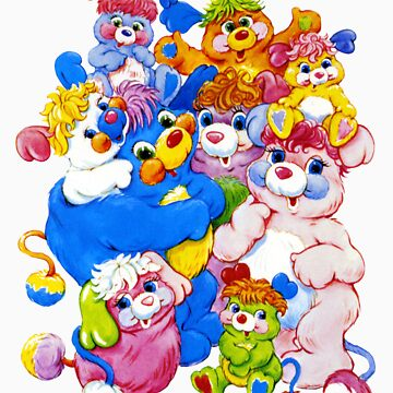Popples - Group - Color by DGArt