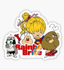 Rainbow Brite - Group Logo #2 - Color Sticker