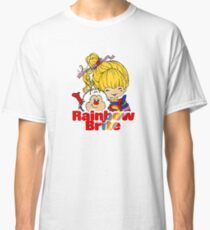 Rainbow Brite - Group - Rainbow & Twink - Small - Color Classic T-Shirt