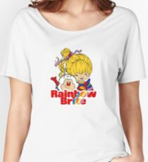 Rainbow Brite - Group - Rainbow & Twink - Small - Color Women's Relaxed Fit T-Shirt