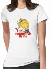 Rainbow Brite - Group - Rainbow & Twink - Small - Color Womens Fitted T-Shirt