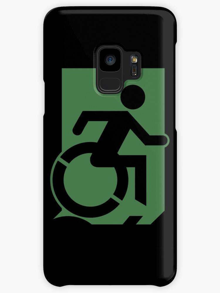 Accessible Means of Egress Icon Emergency Exit Sign, Right Hand by Egress Group Pty Ltd