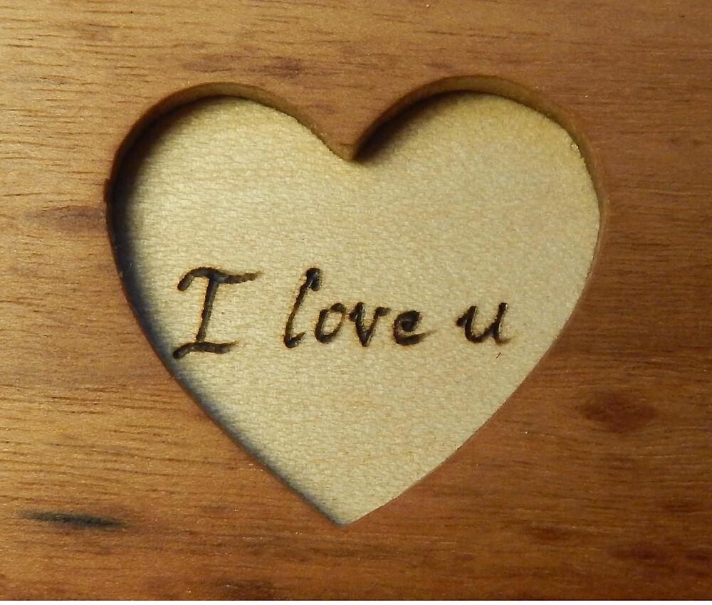 Wooden love u by Andulino