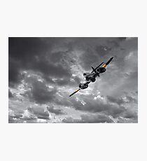 Meteor Splash Photographic Print
