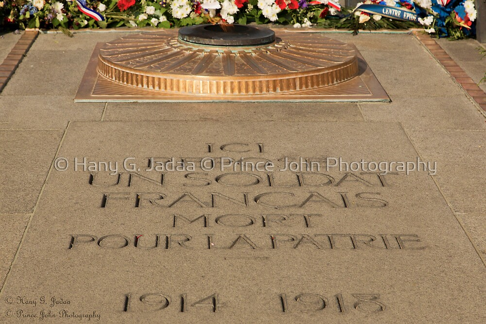 Tomb Of The Unknown Soldier - Arc De Triomph © by © Hany G. Jadaa © Prince John Photography